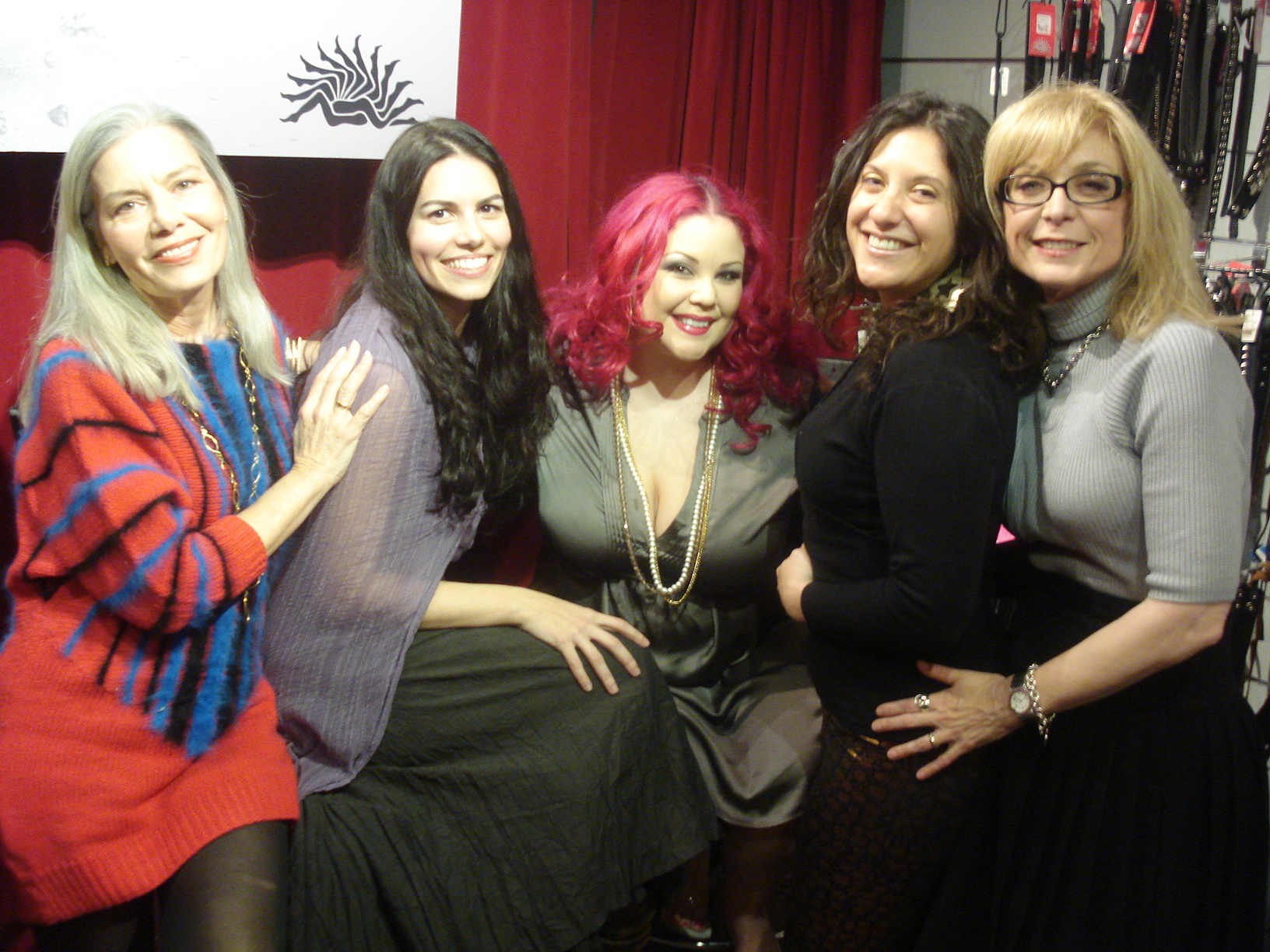 ... pornographer panelists at last night's ��Sex Savvy: Smart Women in Porn�� ...