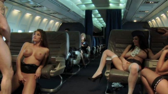 sexy on the plane