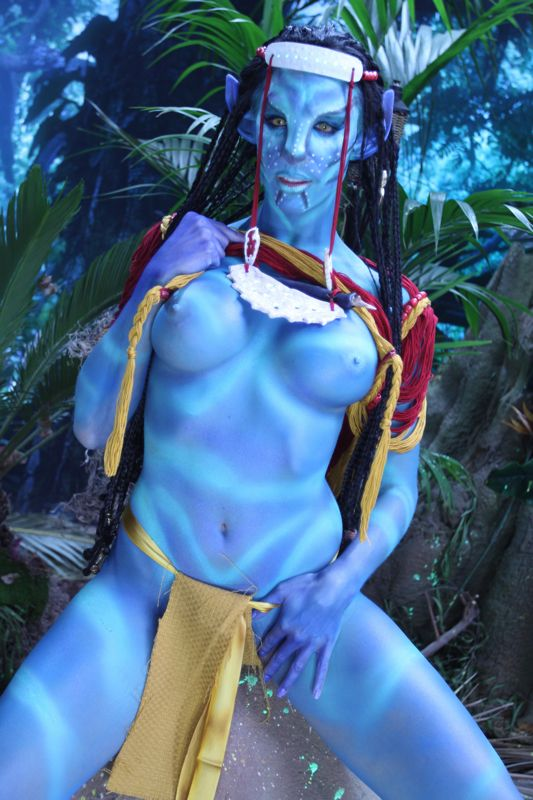 avatar body paint sex