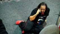 Ron Jeremy wears crocs, too
