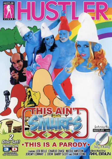 """This Ain't the Smurfs XXX"" isn't the first blue movie based"