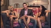 Aleska Diamond, Danny D., and Megan Coxxx
