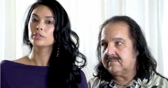 Ron Jeremy and Tera Patrick