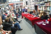 "Larry Edmunds Bookstore for ""Golden Goddesses"" signing, November 2012"