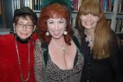 (L-R) Raven Touchstone, Annie Sprinkle, Veronica Hart