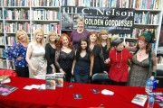 "Some of the ""Golden Goddesses"" with author Jill Nelson"