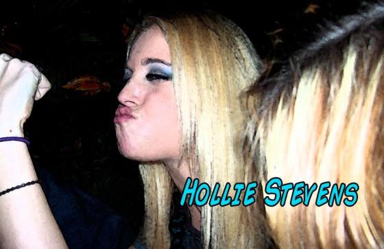 Hollie Stevens on her 25th birthday, Las Vegas