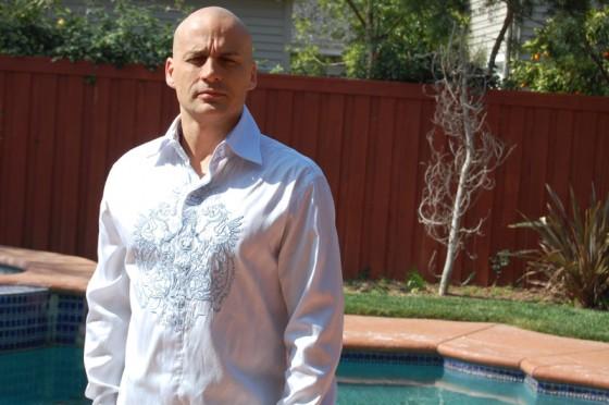 Derek Hay at one of LA Direct's model houses