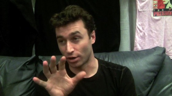 On the couch with James Deen
