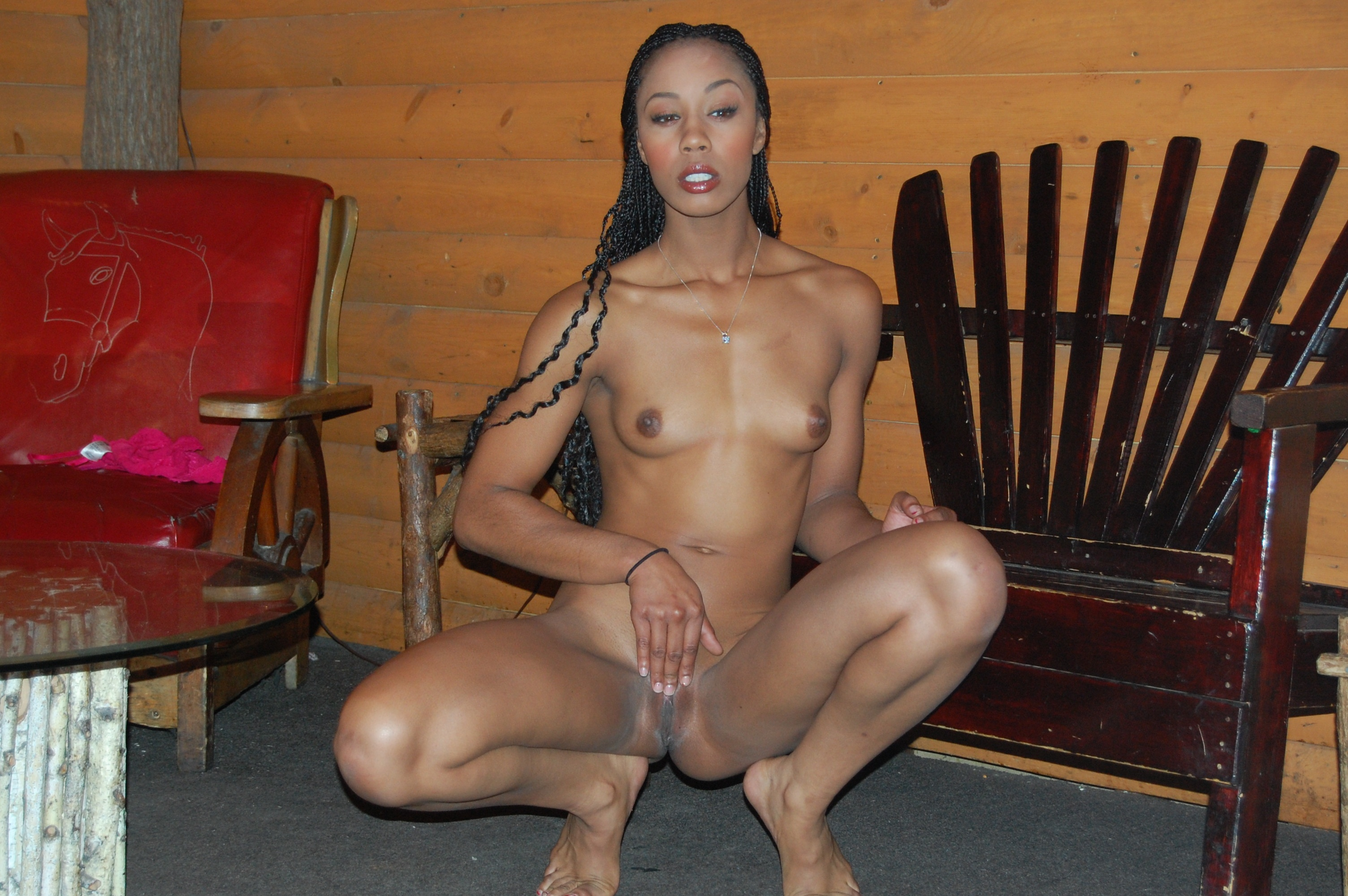 Nude sex sitting up