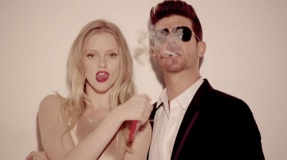 """Blurred Lines""—Robin Thicke"