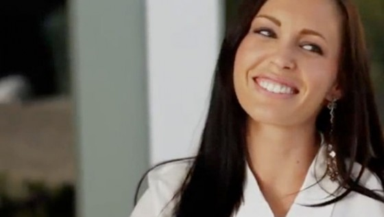 Brittni Ruiz, formerly Jenna Presley, in her XXXChurch video