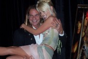 """Pirates"" premiere, September 2005: Evan Stone and Jesse Jane"