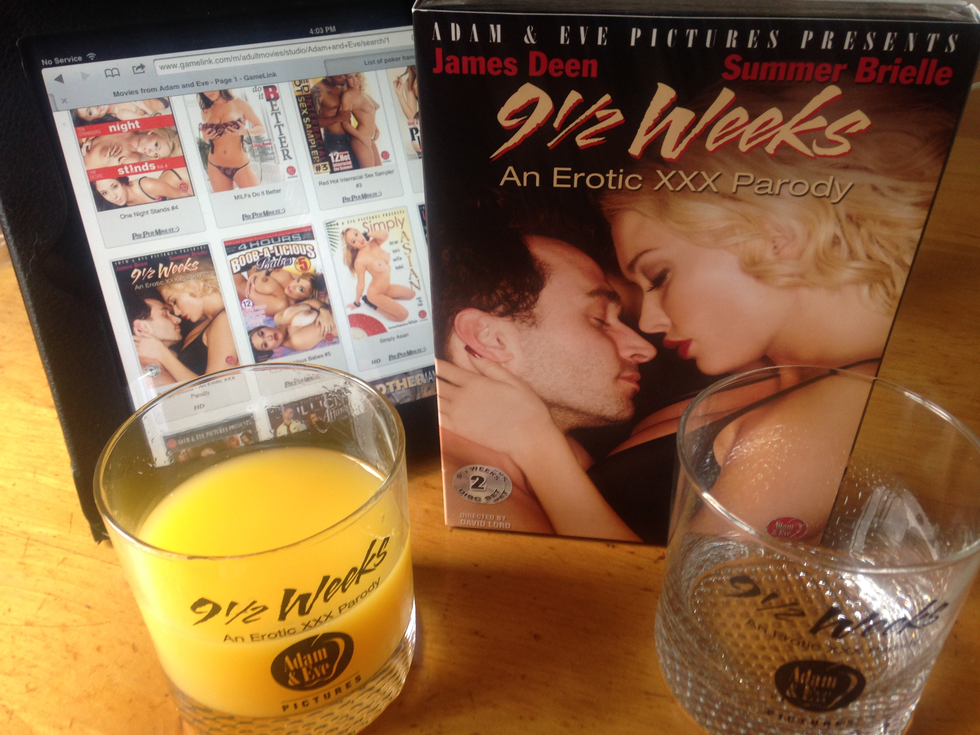 9 1/2 Weeks - An Erotic XXX Parody swag