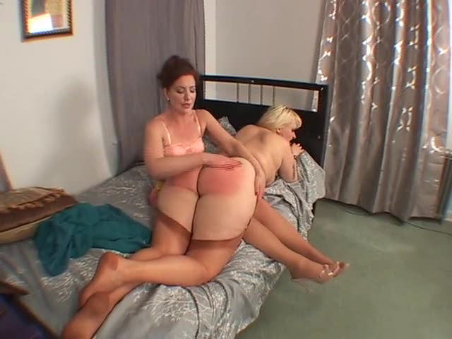 Vidoes large girls being spanked possible
